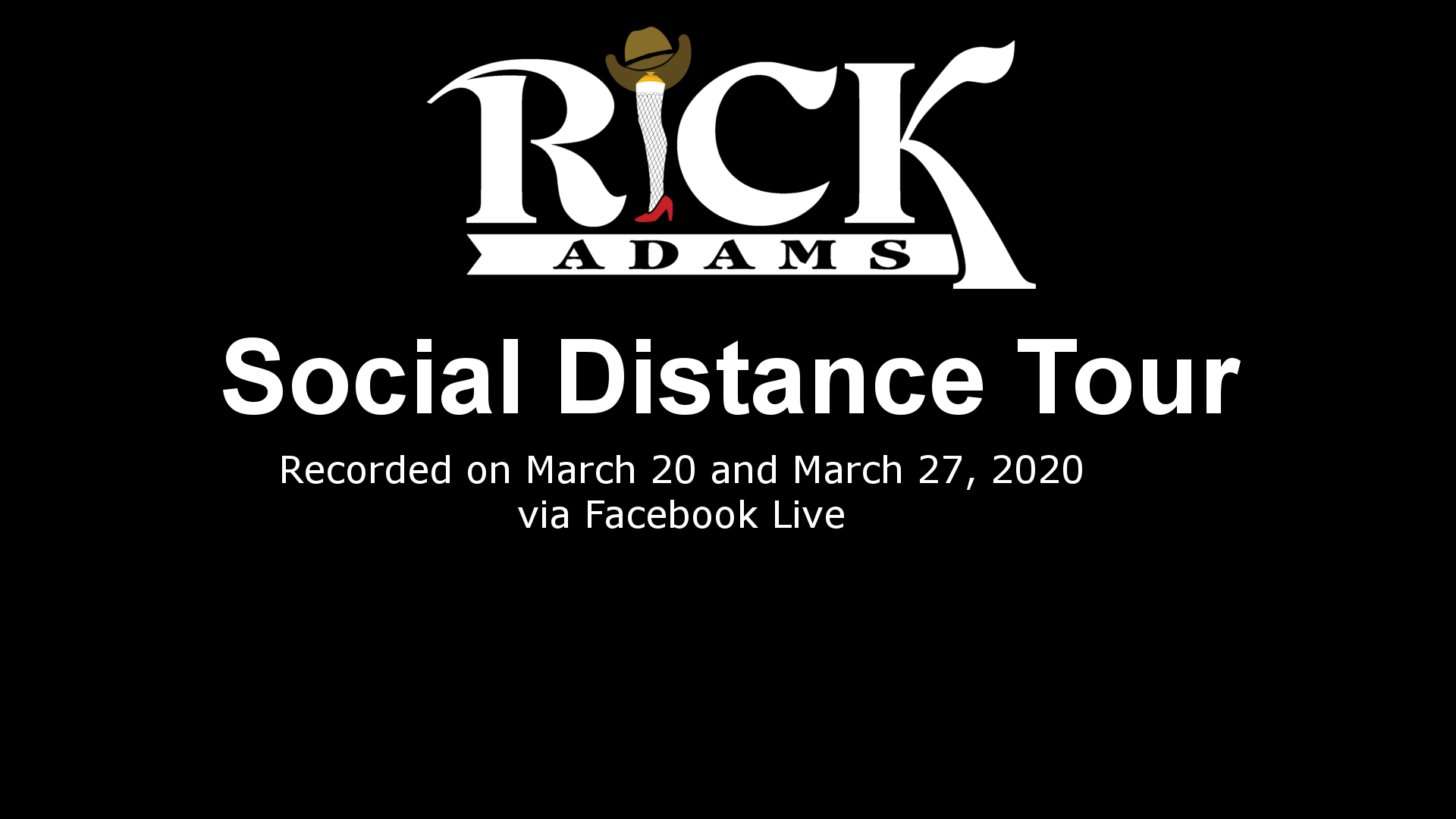 Social Distance Tour - Facebook Shows